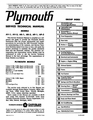 1965 Plymouth Factory Service Manual