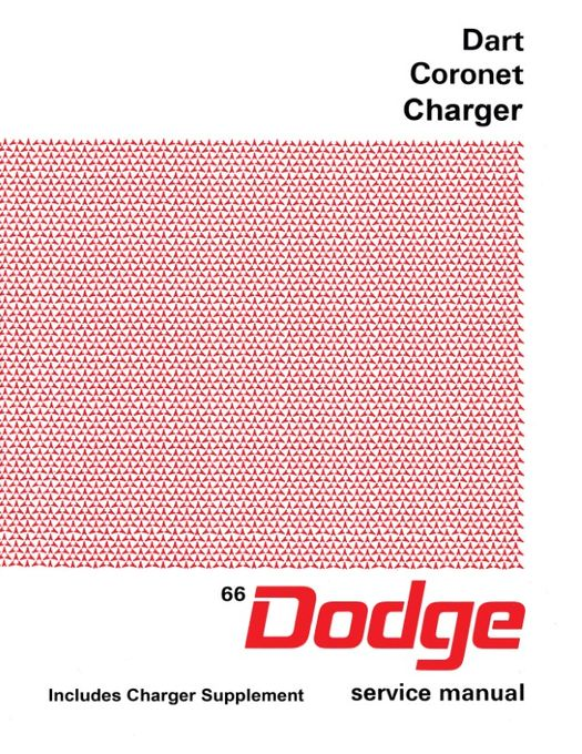 1966 Dodge Charger Fastback Vintage Look Reproduction Metal Sign