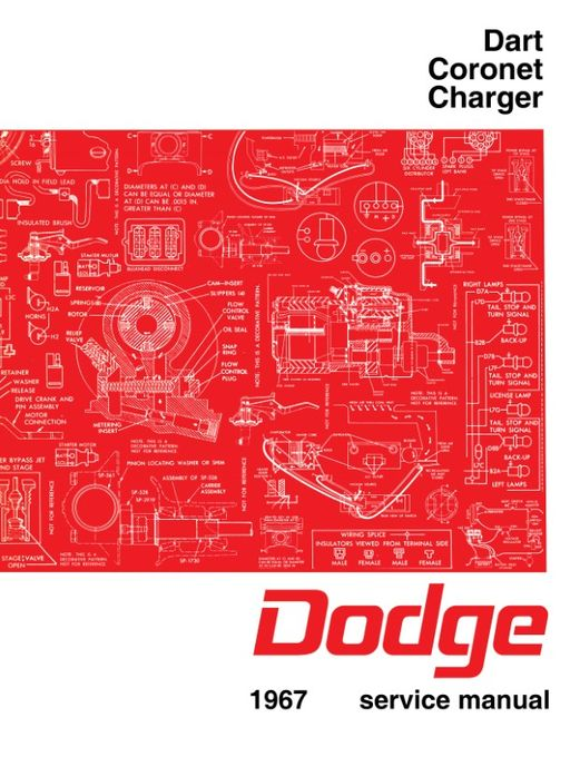 1972 dodge dart service manual