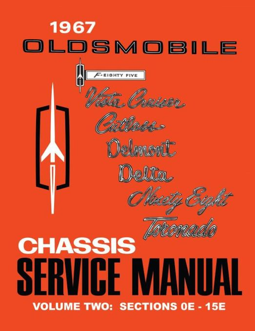 1967 Oldsmobile Chassis Service Manual