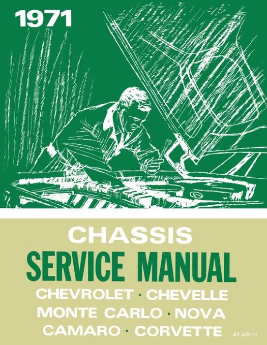 1971 Chevrolet Chassis Service Manual