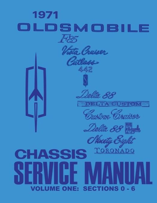 1971 Oldsmobile Chassis Service Manual