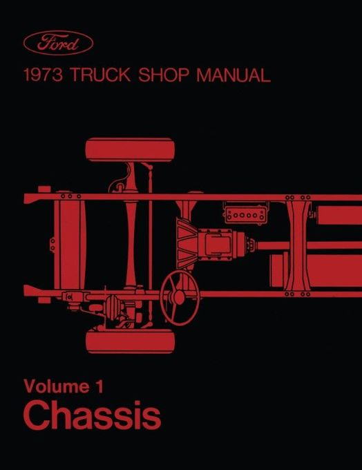 1973 Ford Truck Factory Shop Manual (5-Volume Set)