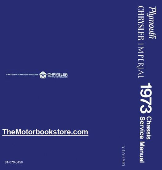 1973 Plymouth, Chrysler, Imperial Chassis Service Manual