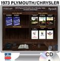 1973 Plymouth / Chrysler OEM Manuals - CD
