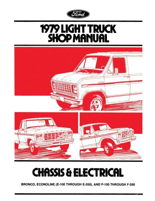 1979 Ford Truck Factory Shop Manual (3-Volume Set)