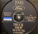 1990 Ford Truck OEM Service Manual on CD-ROM