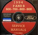 1994 Ford MD/HD Truck OEM Service Manual on CD-ROM