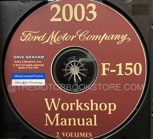 2003 Ford Truck OEM Service Manual on CD-ROM