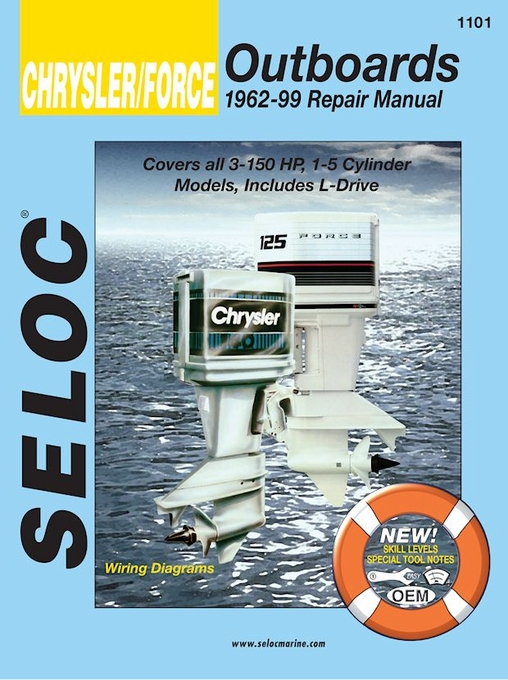Chrysler / Force Outboard Motor Repair Manual 3-150 HP 1962-1999