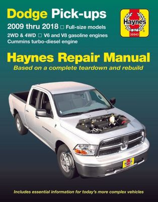 Chilton Dodge Full-Size Trucks 1989-1996 Repair Manual 20402