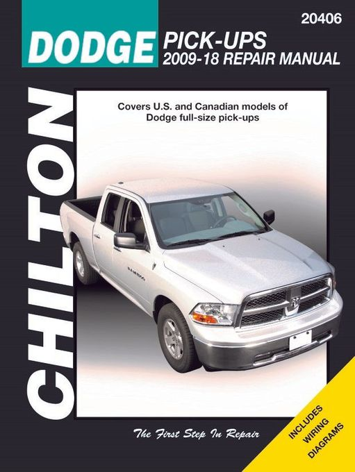 2013 dodge ram factory service manual