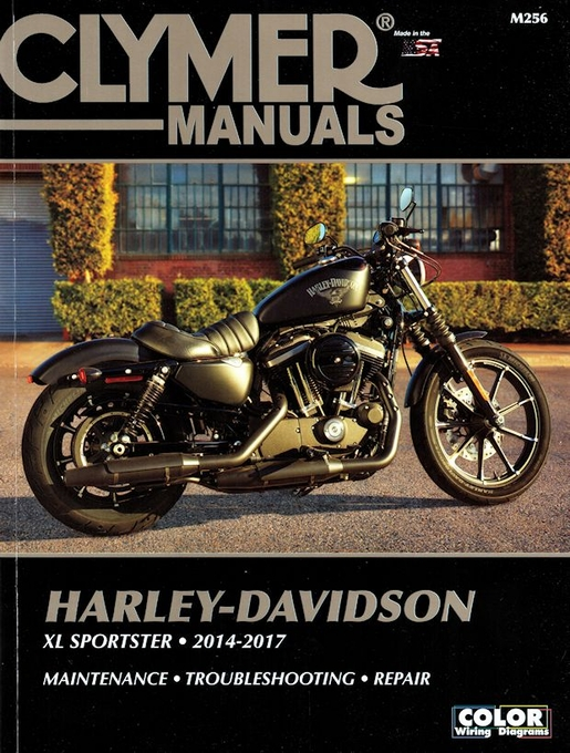 Harley-Davidson XL Sportster Repair Manual 2014-2017