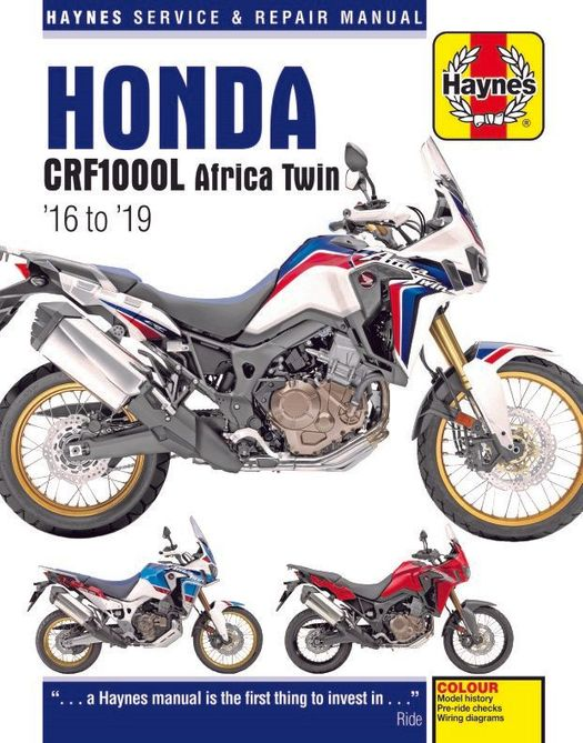 Honda CRF1000L Africa Twin Repair Manual: 2016-2019