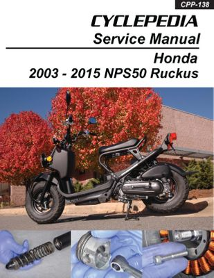 Scooter Service Manuals - Scooter Repair Manual