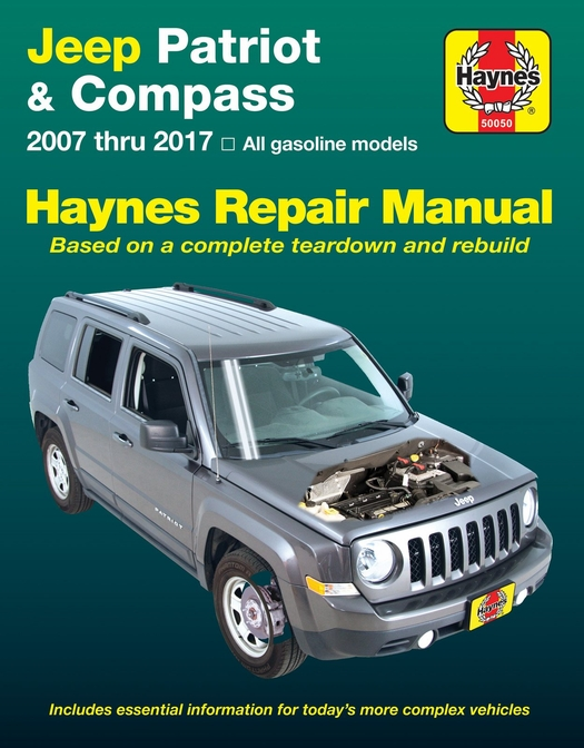 Jeep Patriot Compass Repair Manual 2007 2017 Rh Themotorbookstore Com Jeep  Patriot Manual Transmission Review 2012