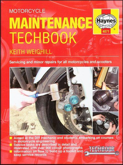 Motorcycle Maintenance Techbook: Motorcycles, Scooters