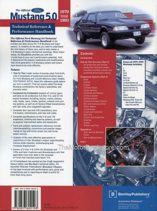 Mustang 5.0 Tech Reference and Performance Handbook