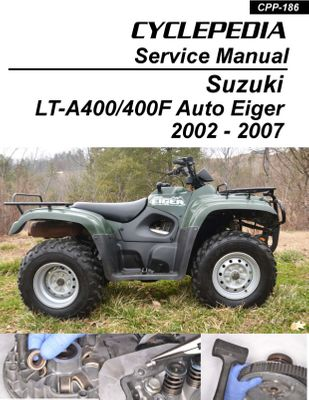 Suzuki ATV Manuals - ATV Repair & Service Manuals