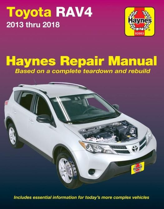 Toyota RAV4 Repair Manual: 2013-2018