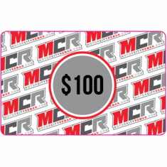 $100 MCR Electronic Gift Certificate