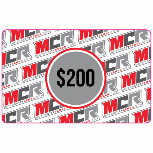 $200 MCR Electronic Gift Certificate