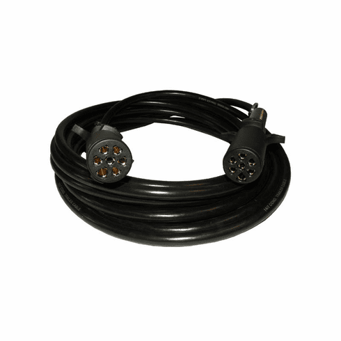 30 FOOT EXTENSION CORD W/ 7 PIN PLUG END AND 7 PIN PLUG END