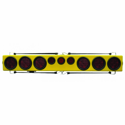 """48"""" LED TOW LIGHT BAR WITH EXTRA BRAKE LIGHTS"""