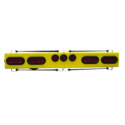 """48"""" LED TOW LIGHT BAR WITH OVAL LIGHTS"""