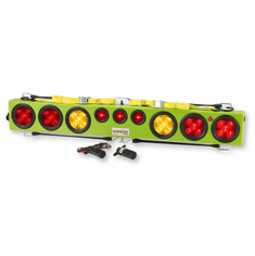 """48"""" LITE-IT WIRELESS LIGHT BAR WITH FLASHERS TRANSMITTER & CHARGING CORD -MADE IN USA"""