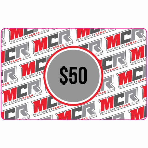 $50 MCR Electronic Gift Certificate