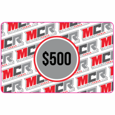 $500 MCR Electronic Gift Certificate
