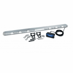 """51"""" LED MULTI-FUNCTION ROOFTOP AMBER LIGHT BAR WITH CLEAR LENS"""