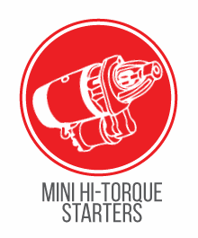 HOT ROD UNIVERSAL / MINI HIGH TORQUE STARTERS