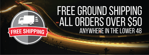 Free Shipping on all orders over $50 in the Contiguous US