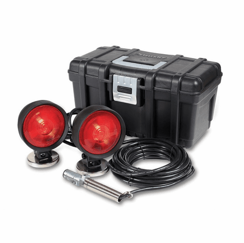INCANDESCENT ROUND BASE HEAVY DUTY TOWING LIGHTS