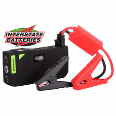 INTERSTATE BATTERIES 12,000MAH PORTABLE JUMP STARTER BOOSTER POWER BANK CHARGER