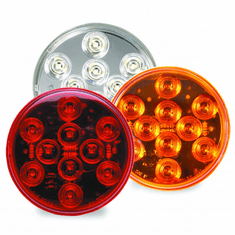 LED 4 SEALED ROUND LIGHT WITH 10 DIODES
