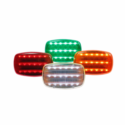 LED BATTERY OPERATED MAGNETIC SAFETY FLASHERS