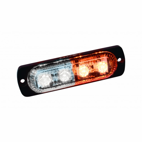 LED LOW PROFILE STROBE LIGHTS WITH 19 FLASH PATTERNS