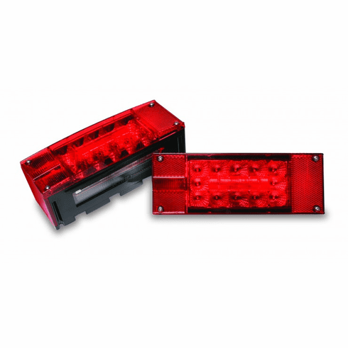 LED OVER 80 WIDE LOW PROFILE SUBMERSIBLE TRAILER LIGHT