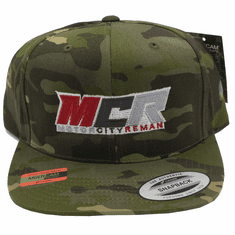MCR OFFICIAL HAT CAMO LOGO YUPOONG CLASSIC FLAT BRIM