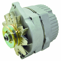 NEW DELCO 10SI 10 SI IR/EF 3 WIRE SYSTEM 63 AMP W/V DRIVE PULLEY REPLACEMENT ALTERNATOR