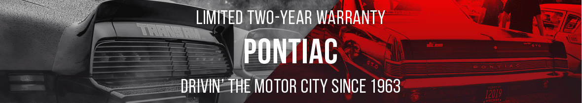 PONTIAC WIPER MOTORS