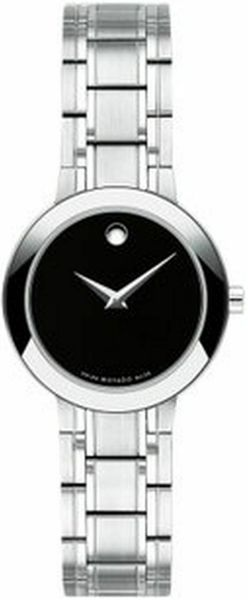 Movado Stiri Black Dial Women's Watch 0607280
