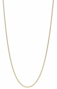 10k Yellow Gold Chain Necklace C18Y