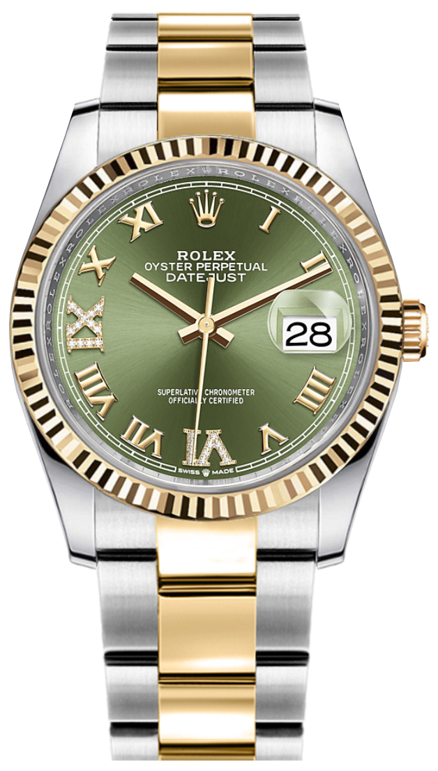 Rolex_Datejust_Green_Dial_Womens_Watch_126233