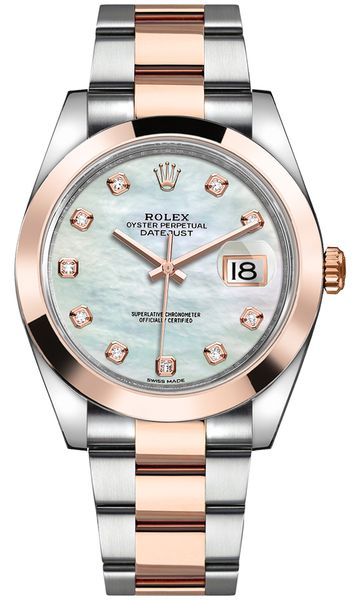 Rolex Datejust 41 Mother of Pearl Dial Men's Watch 126301