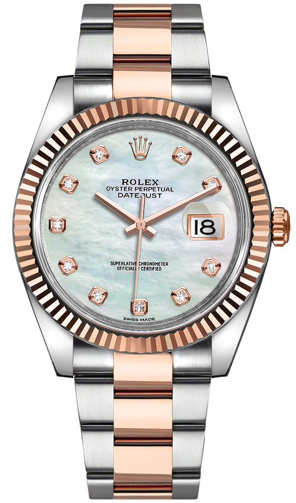 Rolex_Datejust_41_Everose_Gold_Fluted_Bezel_Mens_Watch_126331