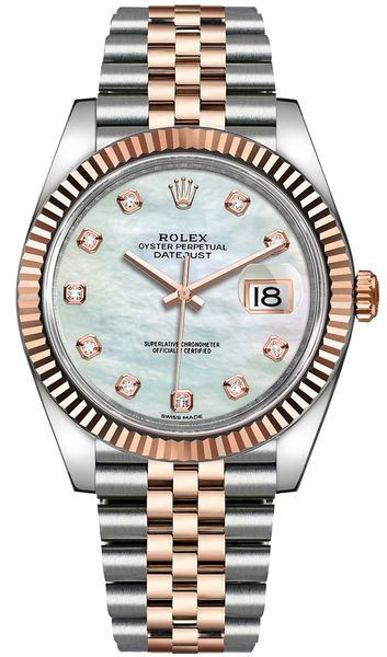 Rolex Datejust 41 Mother of Pearl Dial Men's Watch 126331-0014